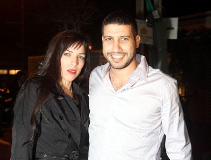 שי אראל ומליסה-אירוע סיום עונה הישרדות 3 (צילום: אלעד דיין)