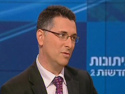 גדעון סער - פגוש את העיתונות (צילום: חדשות 2)