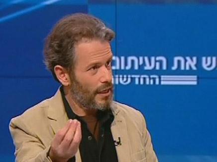 רמי הויברגר בפגוש את העיתונות (צילום: חדשות 2)