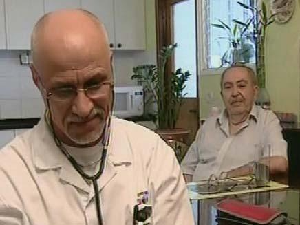 ביקור רופא בבתים בחורף (צילום: חדשות 2)