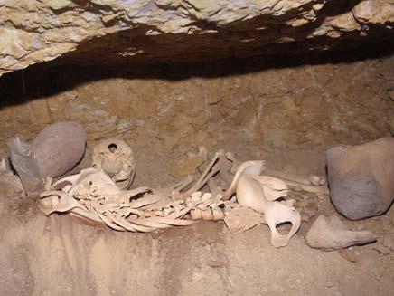 חשד: ניסו לגנוב עצמות מקבר עתיק. ארכיון (צילום: AP)