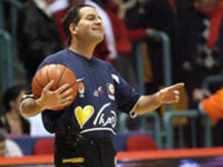 שופט הכדורסל ירון זריף (צילום: גלובס)