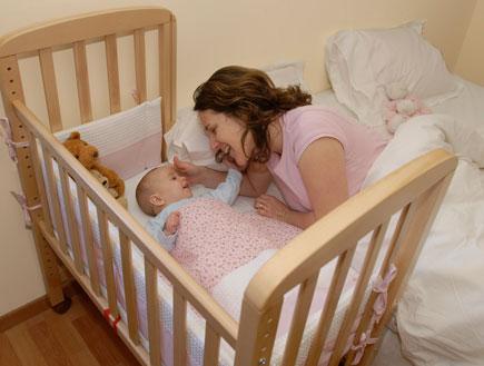 מיטת תינוק (צילום: מיטונת)
