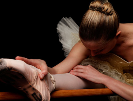 רקדנית בלט (צילום: istockphoto)