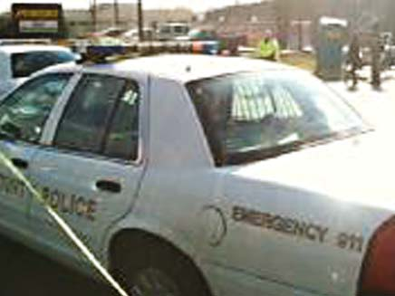 זירת רצח באטלנטה (צילום: WBSTV)
