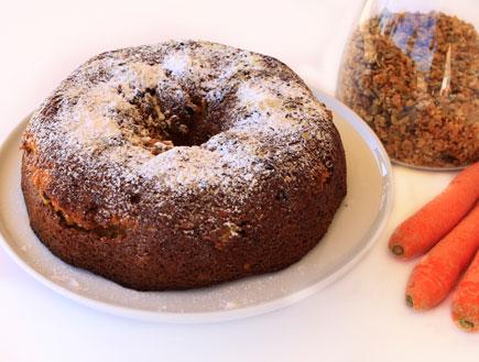"""עוגת גזר לט""""ו בשבט (צילום: קיצ'נאייד אקססוריז)"""