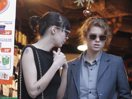 מפגש חברים בקנטינה - יובל שרף ודנה פרידמן  (צילום: אלעד דיין)