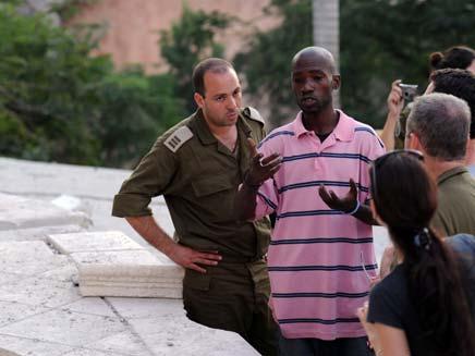 """משלחת הסיוע הישראלית בהאיטי (צילום: דובר צה""""ל)"""