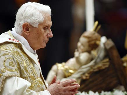 יודיע על פרישה. האפיפיור (צילום: AP)