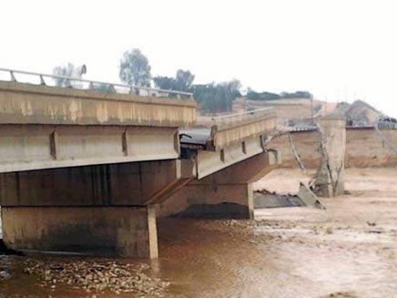 גשר ניצנה שקרס