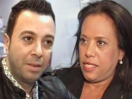 ליאור נרקיס ומרגלית צנעני נרתמים לעזרת קיסר (צילום: חדשות 2)