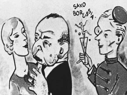 קריקטורה נאצית (צילום: AP)