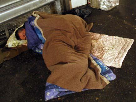 חסר בית. ארכיון (צילום: רויטרס)