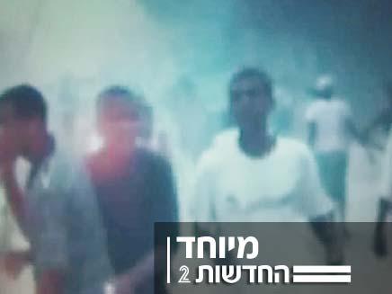 הרגעים הראשונים לאחר רעידת האדמה (צילום: CNN)