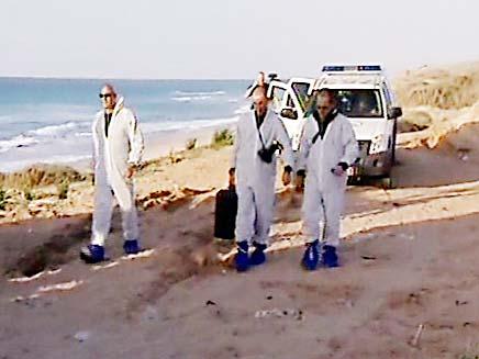 כוחות משטרה בחוף הים. צילום ארכיון (צילום: חדשות 2)