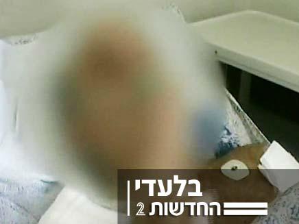 פצוע הירי מהמחסום (צילום: חדשות 2)