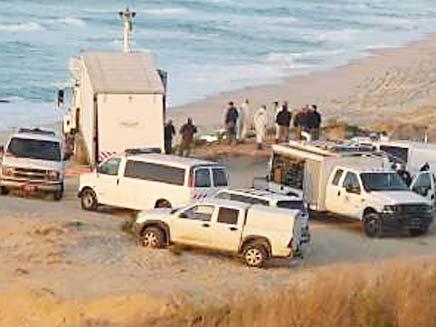 חיפושים אחר נעדר בים, ארכיון (צילום: פורום פלסטיני)