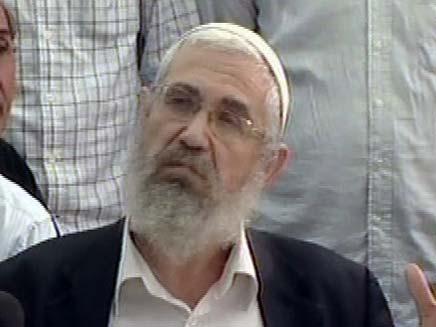 הרב מרדכי אלון (צילום: חדשות 2)