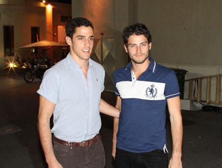 אירוע של ללין - אדריאנו וגיא לובלצ'יק (צילום: אלעד דיין)