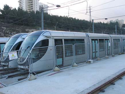 הרכבת הקלה בירושלים (צילום: חדשות 2)
