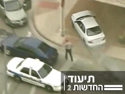 מרדף (צילום: חדשות 2)