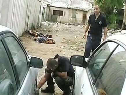 רצח קשישה לאור יום (צילום: חדשות 2)