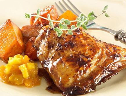 עוף עם ירקות כתומים (צילום:  יחסי ציבור )