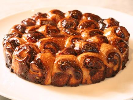 עוגת שושנים שוקולד בלגי (צילום: מסעדת טאטי)