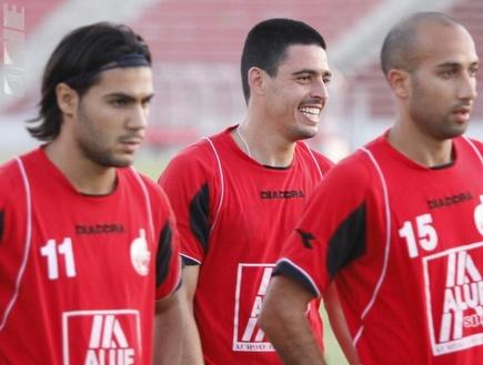 אייל שן, דוד רביבו ואוהד קדוסי (תומר גבאי) (צילום: מערכת ONE)