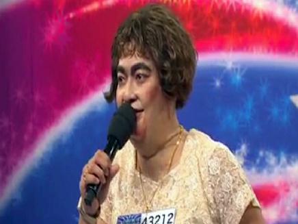 סוזן בויל היפנית (צילום: חדשות 2)
