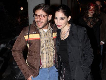 אירוע הבימה - ורד פלדמן והחבר (צילום: אלעד דיין)