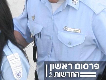 השוטרים החשודים בגניבת מידע (צילום: חדשות 2)