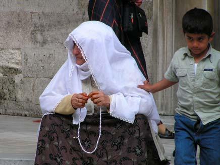 אישה מוסלמית מתפללת - חדשות 2 - אילוסטרציה (צילום: חדשות 2)