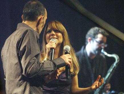 שירי מימון ושמעון בוסקילה (צילום: עודד קרני)