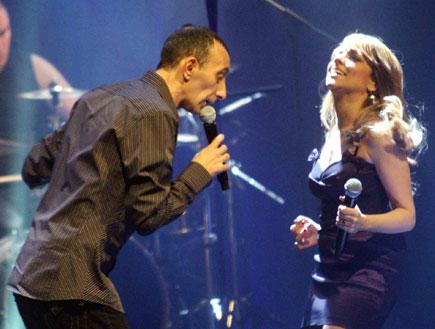 הופעה של שירי מימון ושמעון בוסקילה (צילום: עודד קרני)