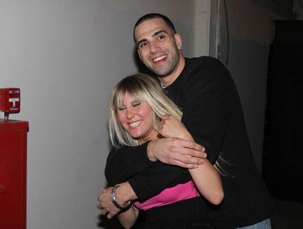 אלין לוי ואלישי כדיר גמר האח הגדול 2010 (צילום: אלעד דיין)