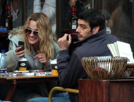 אילנית לוי בקפה פפראצי 3 (צילום: אלעד דיין)