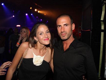 סער שיינפיין ואיילה רשף במסיבה (צילום: אלעד דיין)
