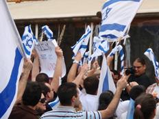 """תשובה ל""""אבל"""" הפלסטיני (צילום: אם תרצו)"""