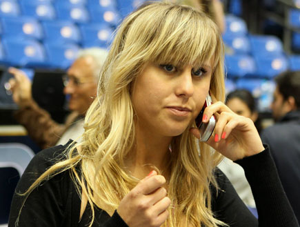 אלין לוי במשחק כדורסל של אלישי כדיר 1 (צילום: עודד קרני)
