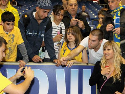 אלין לוי במשחק כדורסל של אלישי כדיר 6 (צילום: עודד קרני)