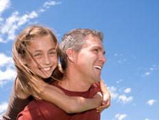 אבא ובת (צילום: istockphoto)