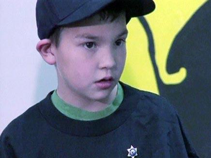 אוסקר הילד שהציל את משפחתו משודד (צילום: חדשות 2)