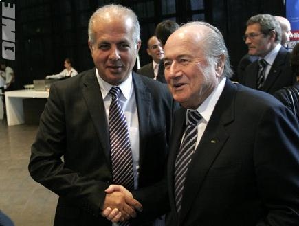 ספ בלאטר ואבי לוזון בפגישתם הקודמת (אמיר לוי) (צילום: מערכת ONE)