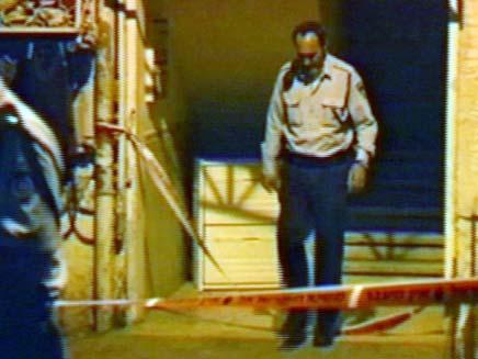 זירת הרצח בפרדס חנה (צילום: חדשות 2)
