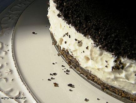 עוגת קרם חמצמצה (צילום: דליה מאיר, קסמים מתוקים)