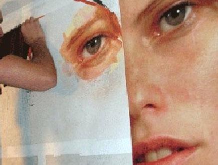 עדי נוימן בתערוכה ניו יורקית5 (צילום: mako)