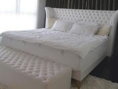 חדר שינה 3 -עיצוב רומנטי (צילום: אמיר גלעדי)