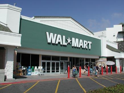 """""""וול-מארט"""". הקניות הסתיימו בתקיפה (צילום: וולמארט)"""
