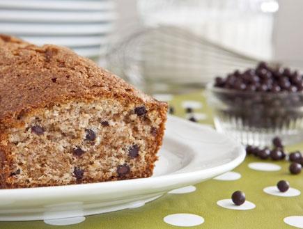 עוגת בננה ושוקולד צ'יפס (צילום: שירן כרמל,  יחסי ציבור )